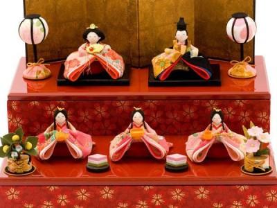 3月3日ひな祭り!かわいいひな人形